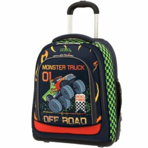 ΤΣΑΝΤΑ POLO TROLLEY GLOW MONSTER TRUCK