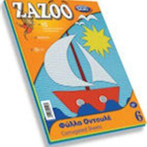 ΧΑΡΤΙ ZAZOO No6 ΟΝΤΟΥΛΕ 10 ΧΡΩΜΑΤΑ 25Χ35