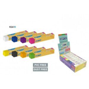 ΓΟΜΟΛΑΣΤΙΧΑ GIPTA NEON 70x14mm (8χρώματα) PVC-DUST FREE