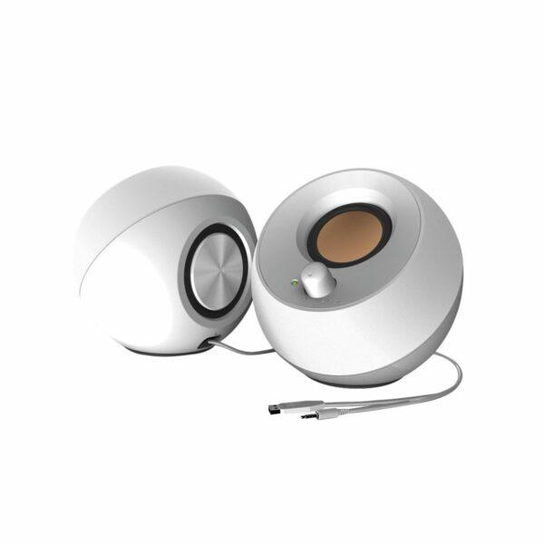 ΗΧΕΙΑ CREATIVE PEBBLE 2.0 SPEAKERS USB (WHITE)