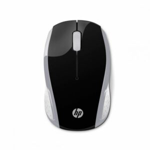MOUSE HP 200PK SILVER WIRELESS