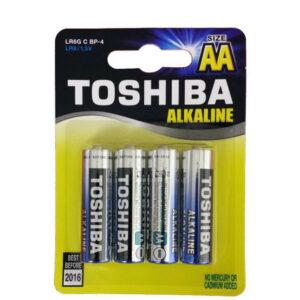 ΜΠΑΤΑΡΙΕΣ TOSHIBA ALKALINE LR06 AA