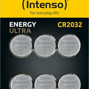ΜΠΑΤΑΡΙΕΣ INTENSO ULTRA ENERGY BUTTON ΛΙΘΙΟΥ CR-2023 6 ΤΜΧ