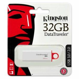 USB KINGSTON DATA TRAVELER DTIG4 32GB 3.0 ΑΣΠΡΟ