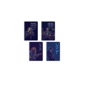 ΤΕΤΡΑΔΙΟ MUSIC WIRELOCK LOGIGRAF Α4/21Χ29 2Θ 60Φ